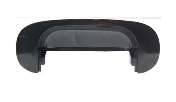 For 1994-2002 Dodge Ram 3500 New Black Outside Smooth Liftgate Tailgate Handle
