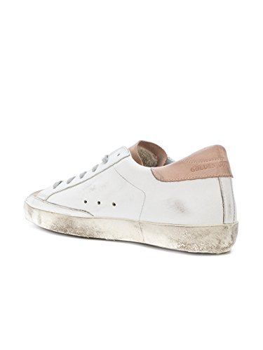 Golden Goose Sneakers Donna G31WS590C63 Pelle Bianco/Rosa