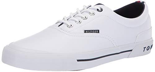 Tommy Hilfiger Men's Pallet6 Sneaker, White/Multi, 13 Medium US