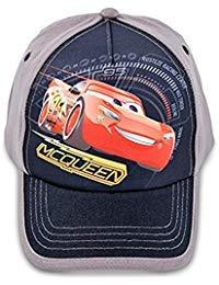 Disney Toddler Boys Cars Lightning McQueen Cotton Baseball Cap, Age -