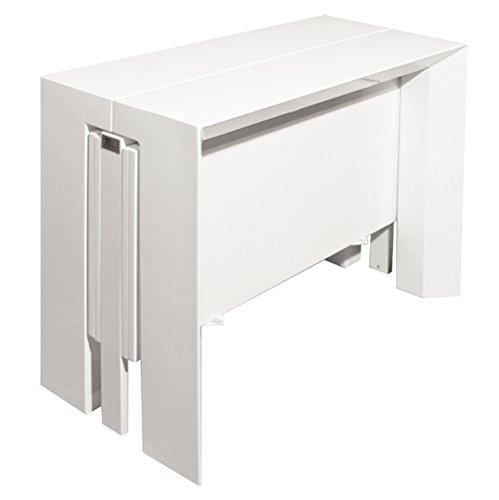 RR Design U2013 Konsole Tisch In Hochglanz Weiß Lackiert Ausziehbar, Konsole  230 Cm RR Design Giada Online Kaufen