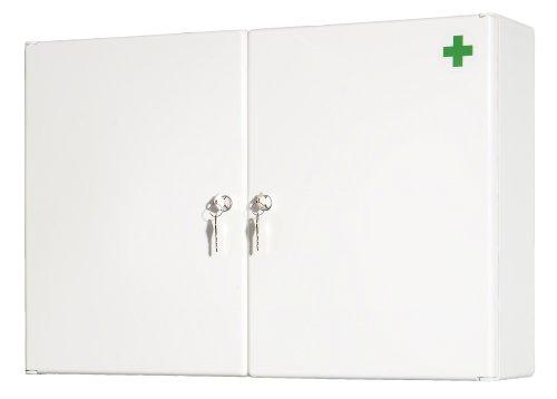 Medizinschrank Medizinschrank Apothekerschrank Medi II inkl. Schloss und Einlagen