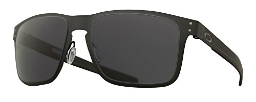 Oakley Holbrook Sunglasses (One Size, Metal Matte Black Frame Solid Black - Metal Oakley Sunglasses Frame
