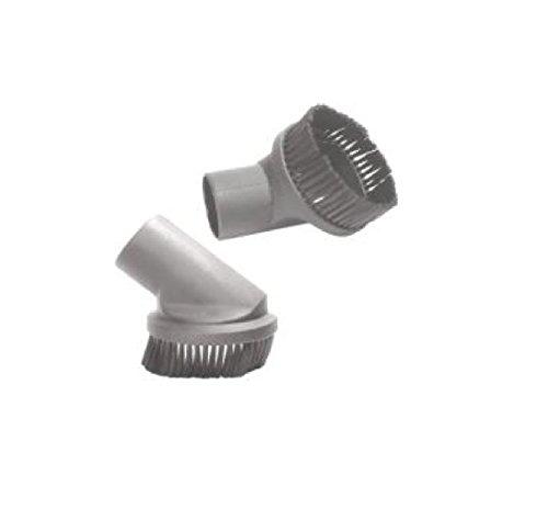 Aspirapolvere rotonda spolverata della spazzola Capelli Testa sintetico compatibile con KARCHER Aspirapolvere Accessori per sottovuoto Diametro 44 mm