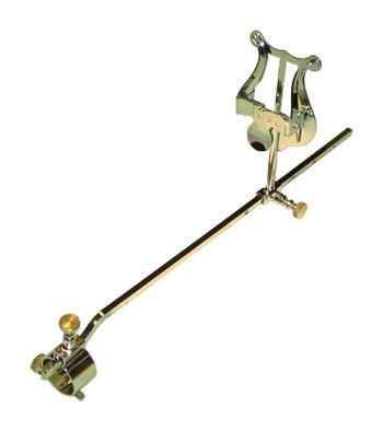 Atril marcha trombón, ajustable soporte Ø 20 mm
