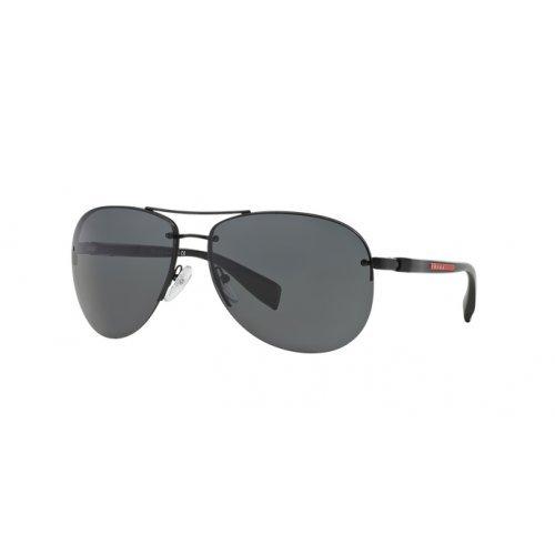 Prada Sunglasses SPS 56M BLACK 1BO-1A1 ()