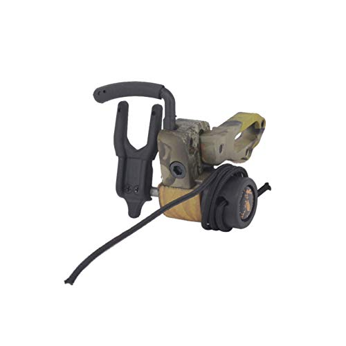 e5e10 Archery Bow Drop Away Fall Away Camo Arrow Rest with Aluminum Alloy for Compound Bow Hunting and Shooting