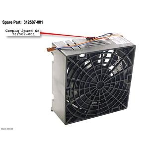 (Compaq 120mm System Fan Workstation XW5000 XW8000 - Refurbished -)
