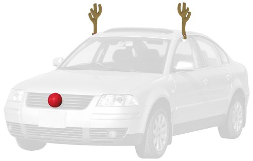 Adorable Couples Costumes - Mystic Industries Reindeer Car