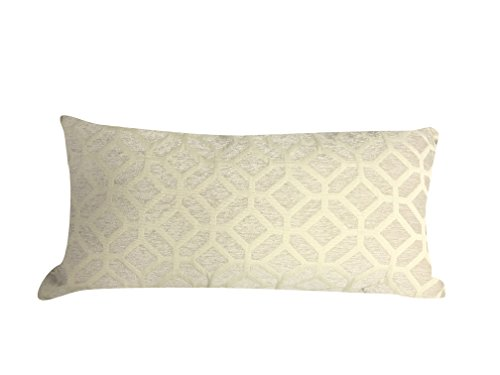 Urban Loft by Westex OVO Ivory Feather Filled Decorative Throw Pillow Cushion 14