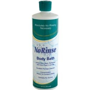 SPECIAL PACK OF 3-No Rinse Body Bath 16 oz.