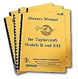 Taylorcraft Bc12 Owners Manual