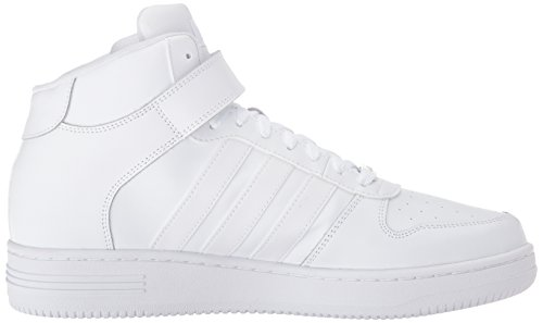 Chaussure De Basket-ball Adidas Neo Mens Team Court Blanc / Blanc / Blanc
