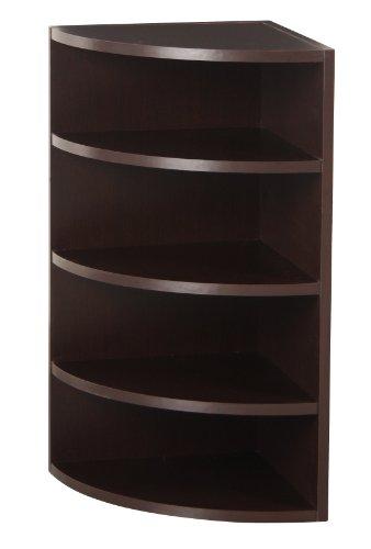 espresso corner shelves - 8