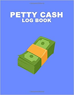 petty cash log book 6 column ledger payment record tracker manage