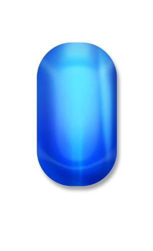 Minx Nails Veruca Throws A Fit Chrome, Blue Chrome, 0.2 Ounce