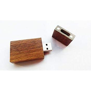 Lot 5 Walnut Wooden 16GB USB Flash Drive Wood 16G Pen Thumb Stick Gifts Pack