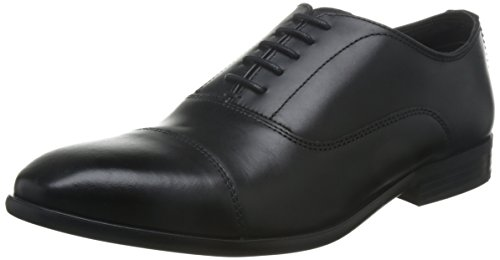 Base Leather Oxford Waxy London Formal Mens Richards Black Shoes R4ARrY