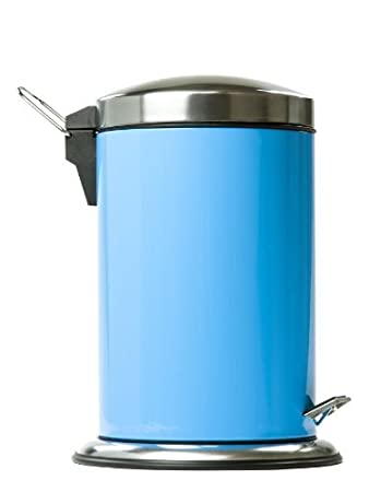 Stainless Steel 7 Liter Trash Can / Step Can   Waste Bin   Trash Container (