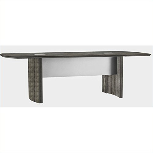 (Safco Products MNC10LGS Medina Table, 10', Gray Steel)