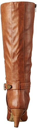 Bella Vita Womens Tanner II Harness Boot Camel Faux Leather OiHlIpoiOq