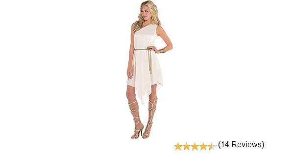 amscan 845537-55 Disfraz de diosa blanca, 1 unidad, multicolor ...