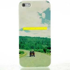 YXF Road Trip Pattern Hard Case for iPhone 5/5S