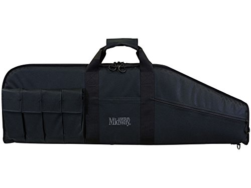 "MidwayUSA Heavy Duty Tactical Rifle Case 42"" Black"