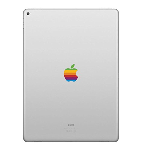 Retro Rainbow Apple iPad Pro 12.9 Decal Sticker Art Design