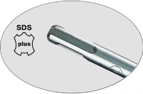 Coffret Translucide r/éf.FH 10995-SET 5A 02 OMO ObjetsMalinsOnline Assortiment de 5 m/èches B/éton SDS PLUS avec T/ête Carbure 4 Taillants et Double Rampe pour Perforateurs toutes Marques