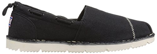 Black Luxe Fancy Chill Marrone Skechers Shoe M Me 7 nbsp;B Boat US Flex pPqEwwFn65