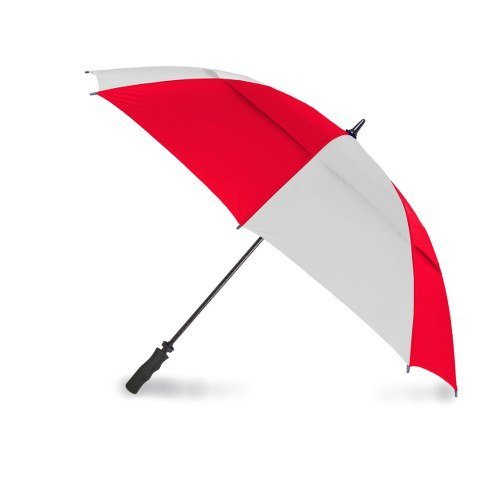 Stromberg 83TOR - RED and WHITE Tornado Golf Umbrella by Stromberg (Image #1)