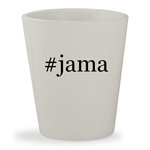 Price comparison product image #jama - White Hashtag Ceramic 1.5oz Shot Glass