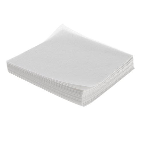Homyl 500pcs/pack Lab Square Weigh Paper Weighing Paper 150x150mm by Homyl