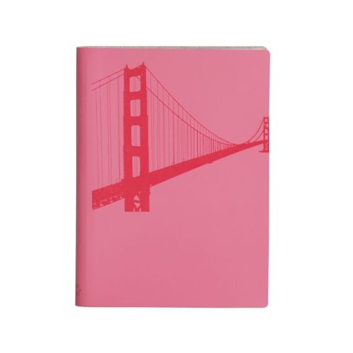 paperthinks-fuchsia-golden-gate-bridge-large-slim-recycled-leather-notebook-45-x-65-inches