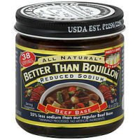 All Natural Reduce Sodium Beef Base 8oz