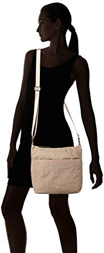 GERRY WEBER Sunshine Shoulderbag Lvz - Bolso de hombro Mujer beige (beige)