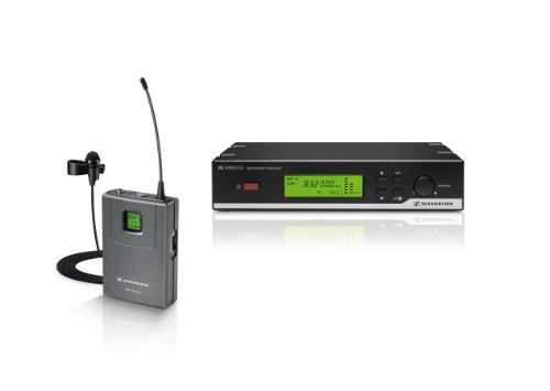 Sennheiser XSW 12-A XS Wireless Lavalier System - SK 20, ME2 and EM 10 Receiver -