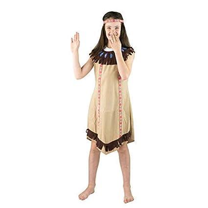 Bodysocks® Disfraz de niña India (4-6 años): Amazon.es ...