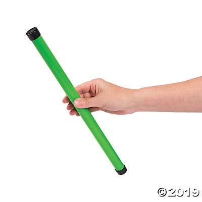 Fun Express Plastic Neon Groan Tubes - Noisemaker Toys - 12 Pieces: Home & Kitchen