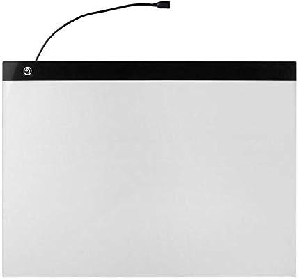 Caja De Luz A3 Tableta Gráfica Led Para Dibujar Muestra Panel De Visualización Lápiz Luminoso Tablero De Copia Gráfico Artista Arte Fino: Amazon.es: Hogar