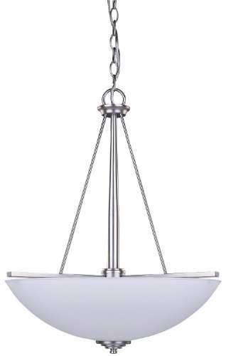 Canarm ICH256A03BPT18 New Yorker 3-Light Chandelier,
