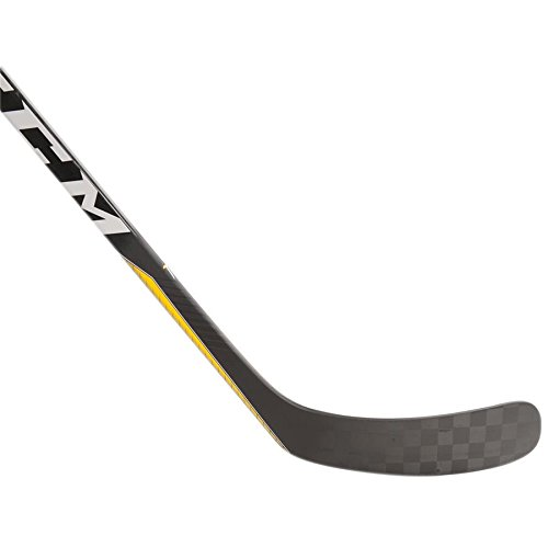 CCM Super Tacks 2.0 Grip Intermediate Hockey Stick - P28 65 Flex - Right