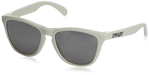 Oakley oOO9013-13 Heaven and Earth White Frogskins Wayfarer Sunglasses Polarise (Original Oakley Frogskins)
