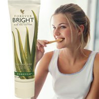 Toothpaste Aloe - Forever Living Forever Bright ToothGel, 4.6 OZ (Pack of 2)