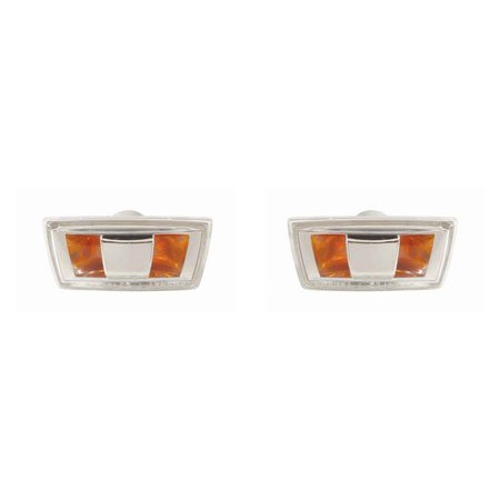 CarLights360: Fits 2007 2008 2009 SATURN AURA Side Marker Light Pair Driver and Passenger Side Replaces GM2530133 GM2531133