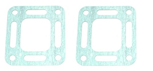 2-Pack MERCRUISER EXHAUST ELBOW GASKET Aftermarket (OPEN) | GLM Part Number: 32080; Sierra Part Number: 18-2849; Mercury Part Number: (Mercruiser Exhaust Manifold Elbow)