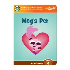 """Meg's Pet"" features short vowel ""e"" sound."