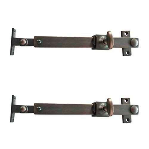 Adonai Hardware Brass Telescopic Casement Sliding Window Stay (Oil Rubbed Bronze)- Supplied as 2 Pieces per Pack ()