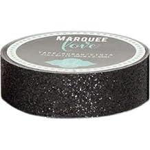 Bulk Buy: Heidi Swapp (2-Pack) Heidi Swapp Marquee Love Washi Tape .875in. Black Glitter, 10' HSMARW-69446